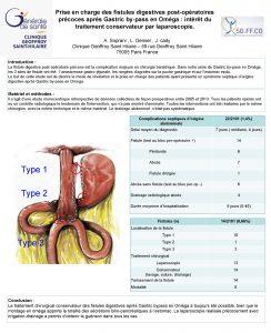 Prise en charge des fistules digestives postopratoires prcoces