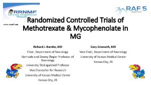 www rrnmf com Randomized Controlled Trials of Methotrexate