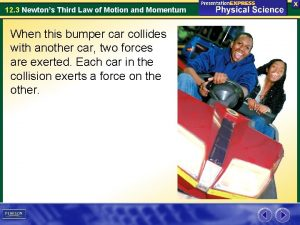 12 3 Newtons Third Law of Motion and