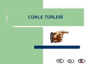 CMLE TRLER YKLEMN TRNE GRE CMLELER A EYLEM