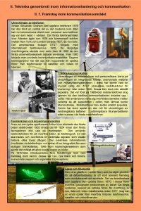 II Tekniska genombrott inom informationshantering och kommunikation II