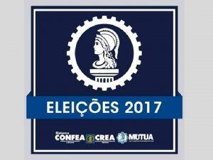 Ttulo Eleies 2017 Presidente do CONFEA Presidente dos