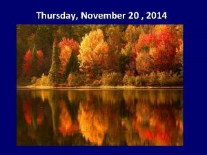 Thursday November 20 2014 Peer Helpers are having