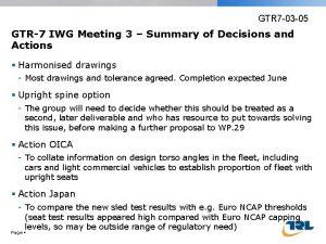 GTR 7 03 05 GTR7 IWG Meeting 3