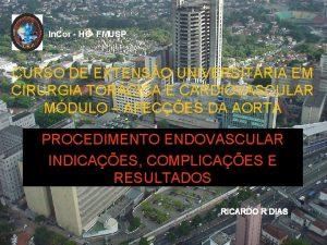 In Cor HC FMUSP CURSO DE EXTENSO UNIVERSITRIA