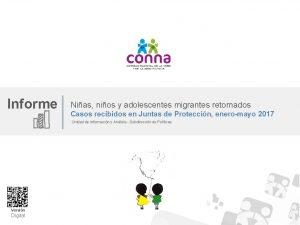 Informe Nias nios y adolescentes migrantes retornados Casos
