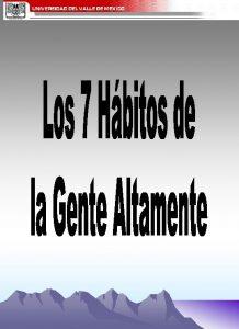ESQUEMA GENERAL DE LOS 7 HBITOS DE LA