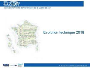 Evolution technique 2018 Point logistique Les laboratoires 2018