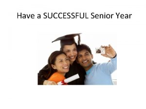 Have a SUCCESSFUL Senior Year Timelines for 9