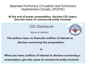 Japanese Pulmonary Circulation and Pulmonary Hypertension Society JPCPHS