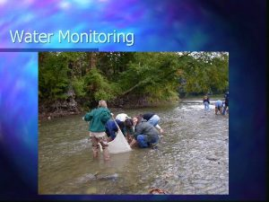 Water Monitoring WhatWhy Water testing Identifying water content