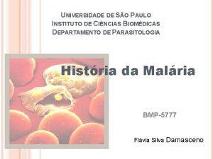 UNIVERSIDADE DE SO PAULO INSTITUTO DE CINCIAS BIOMDICAS