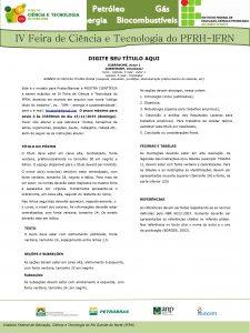 Petrleo Gs Energia Biocombustveis IV Feira de Cincia