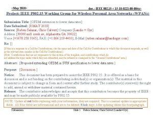 May 2018 doc IEEE 802 15 15 18