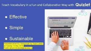 Teach Vocabulary in a Fun and Collaborative Way