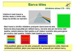 Barva tles Uebnice strana 178 181 Vlomeli mezi