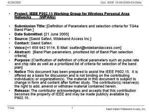 6292005 Doc IEEE 15 05 0355 03 004