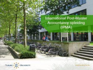 International PostMaster Accountancy opleiding IPMA Prof dr J