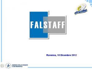 Ravenna 18 Dicembre 2012 Un fenomeno in larga