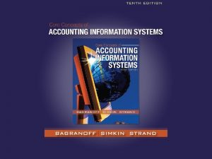 Chapter 11 1 Chapter 11 Information Technology Auditing