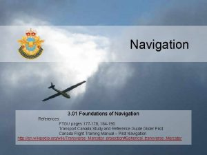 Navigation 3 01 Foundations of Navigation References FTGU