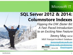 SQL Server 2012 2014 Columnstore Indexes Flipping the