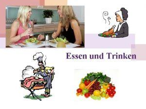 Essen und Trinken Appetit und Essenswahl Hunger und