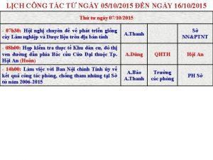 LCH CNG TC T NGY 05102015 N NGY