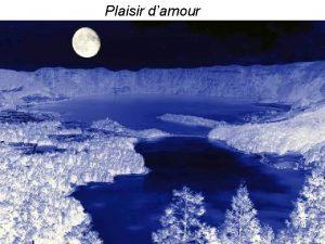 Plaisir damour Msica con historia Plaisir damour Basada