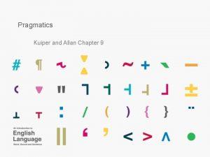 Pragmatics Kuiper and Allan Chapter 9 Introduction Semantics