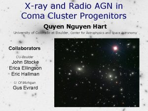 Xray and Radio AGN in Coma Cluster Progenitors