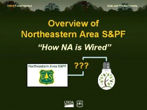 USDA Forest Service State and Private Forestry Overview