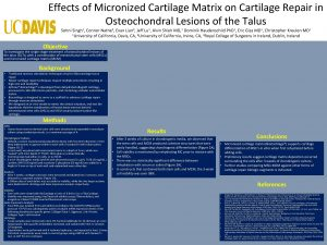 Effects of Micronized Cartilage Matrix on Cartilage Repair