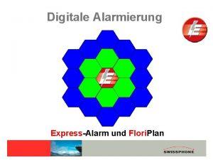 Digitale Alarmierung ExpressAlarm und Flori Plan DisplayMeldeempfnger BOSS
