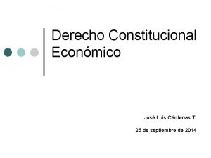 Derecho Constitucional Econmico Jos Luis Crdenas T 25