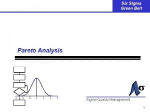 Six Sigma Green Belt Pareto Analysis 6 4