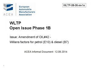 WLTP08 06 rev 1 e WLTP Open Issue
