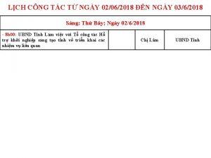 LCH CNG TC T NGY 02062018 N NGY