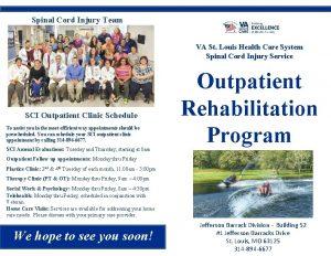 Spinal Cord Injury Team VA St Louis Health