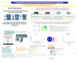 Independent Study of Parallel Programming Languages An Independent