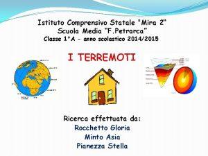 Istituto Comprensivo Statale Mira 2 Scuola Media F