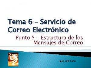 Tema 6 Servicio de Correo Electrnico Punto 5