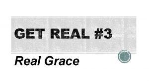 Real Grace Gods Grace Before Salvation Genesis 1
