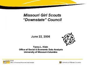 Missouri Girl Scouts Downstate Council June 22 2006