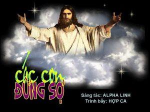 Sng tc ALPHA LINH Trnh by HP CA