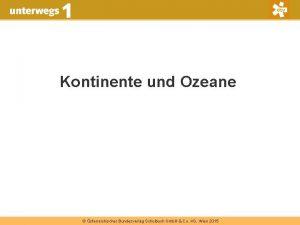 Kontinente und Ozeane sterreichischer Bundesverlag Schulbuch Gmb H