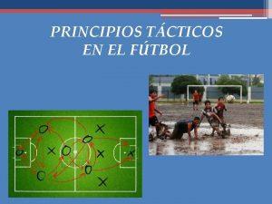 PRINCIPIOS TCTICOS EN EL FTBOL Principios tcticos Preparar