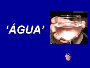 Um copo de gua corta a sensao de