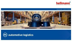 automotive logistics Automotive History 1998 First automotive logistics