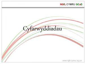 NGf L CYMRU GCa D Cyfarwyddiadau www ngflcymru